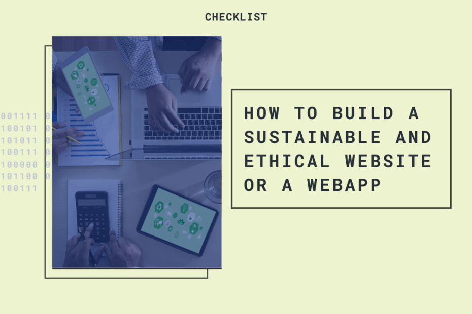 ethical sustainable website
