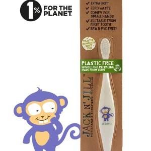 jack n jill laste hambahari pärdik, monkey