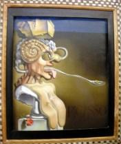 Picasso vu par Dali