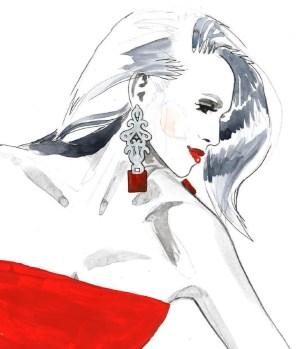 Red Janina close up 1