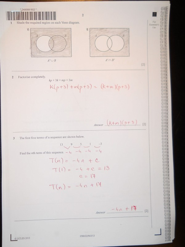 Chithambara Maths Challenge Past Papers - wowkeyword.com