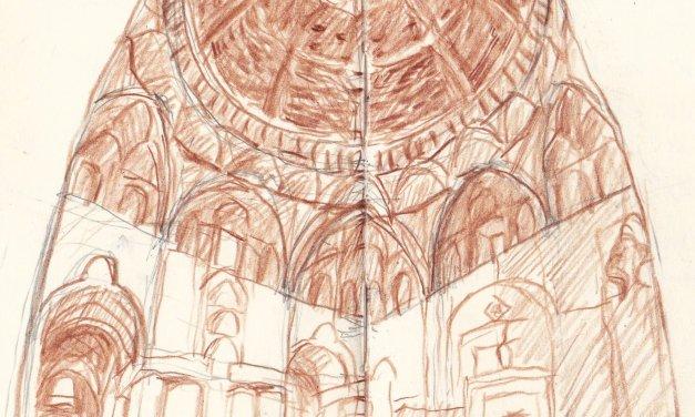DB 149 2015  Esfahan  Nizam al Molk  kuppel / dome