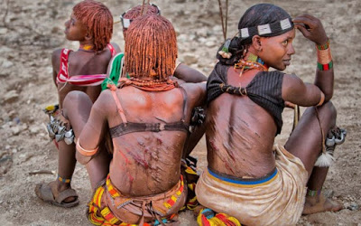 Uncivilized tribes in Africa