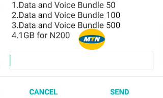Mtn 1gb for #200, 1.5gb for #300