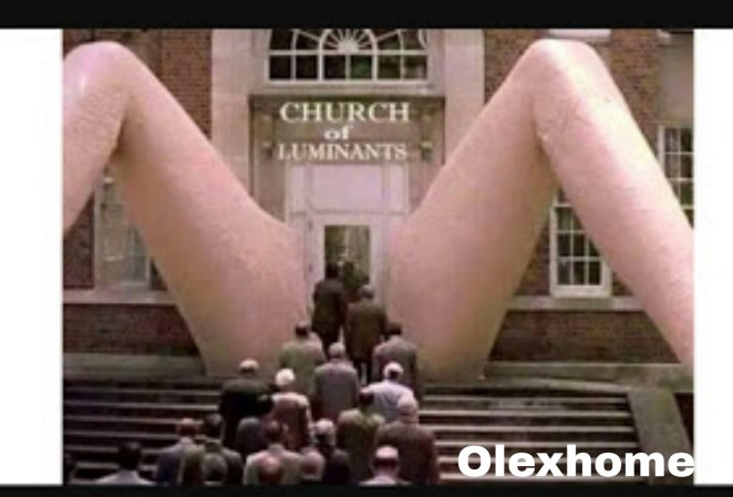 Entrance of church in US looks weird