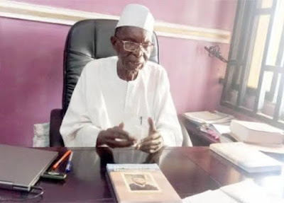 Nigerian professor that drove car from London to Kano