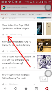 How to put your blog on opera news