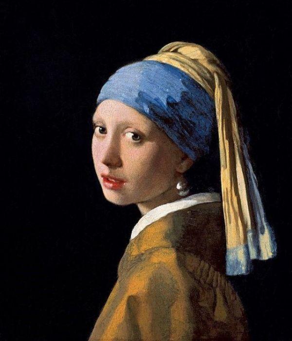 """Вермеер ян """"девушка с жемчужной сережкой"""" описание картины ..."""