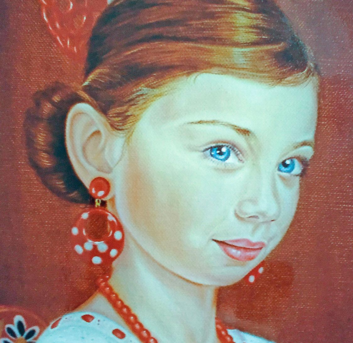 Old Masters techniques portrait
