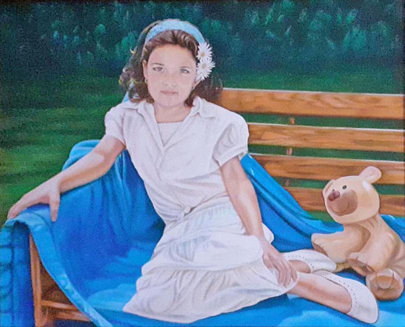 Olga Calado portrait of Celia