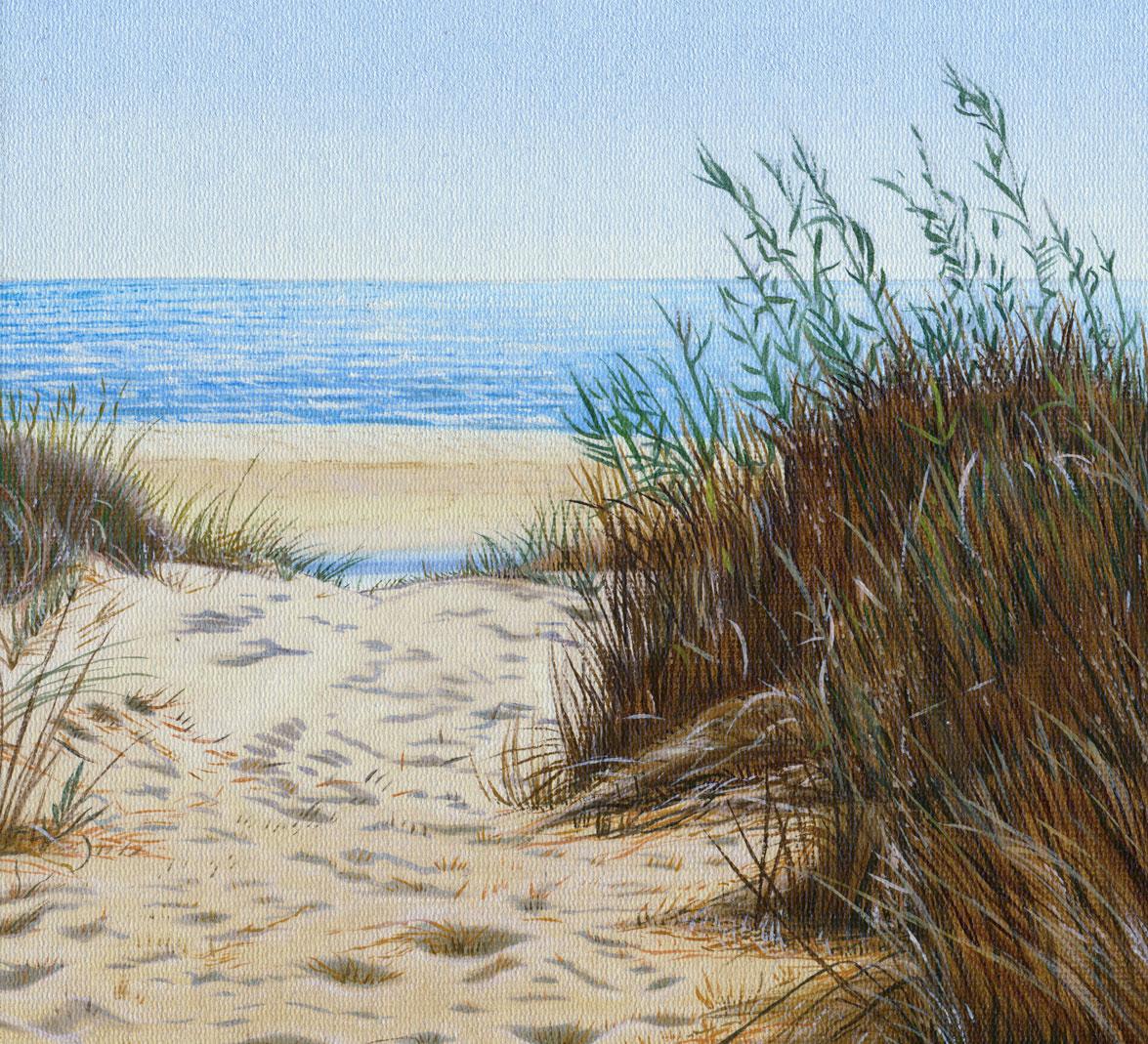 Sand Beach Summer