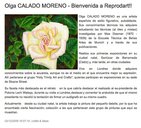Welcome-Article to-Reprodart in www
