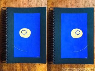 """Vernissage de la série """"bleu et or"""" harmonium"""