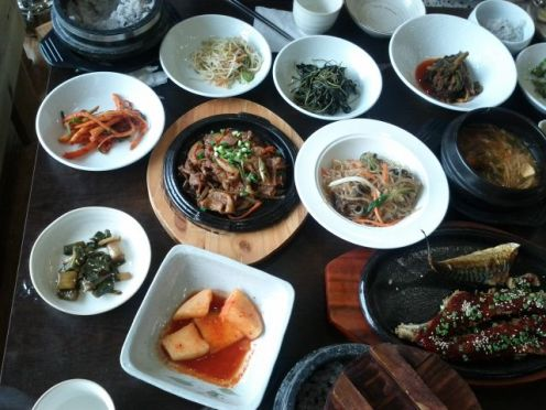 Bulgogi (every restaurant prepares it a bit differently, you never know what you will get)