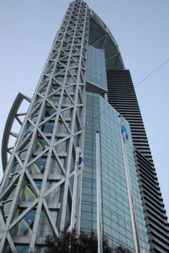 Jongno Tower on Jongno Street (Bell street) with Top Cloud restaurant on 33-rd floor