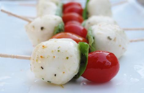 Mozzarella Fresca Kebab