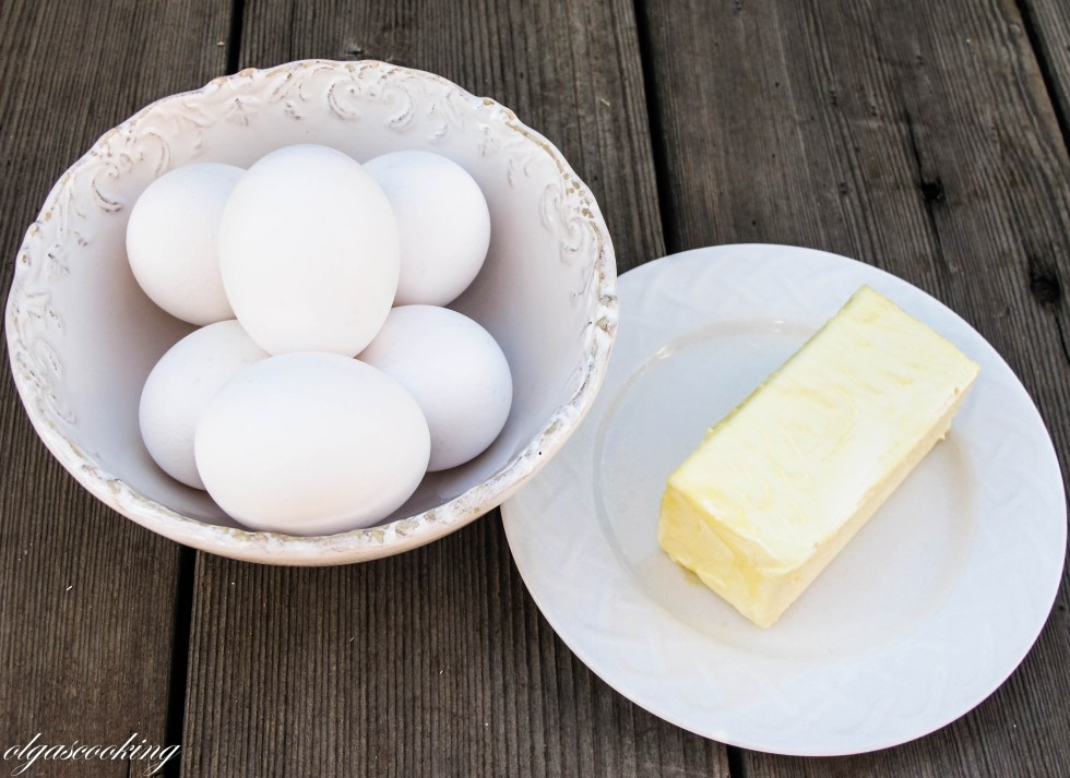 Eggs & Butter For Baking
