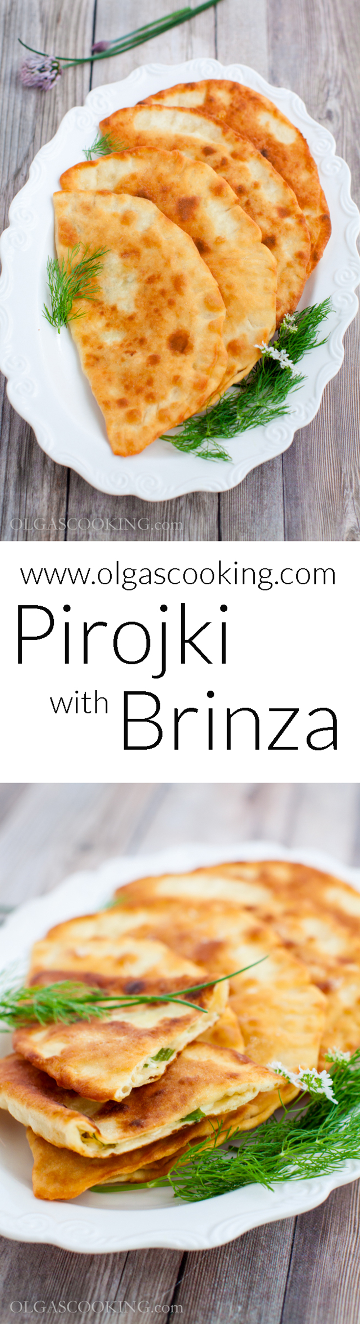Pirojki with Brinza