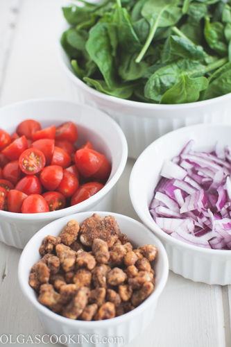 Tomato Spinach Salad-1-4