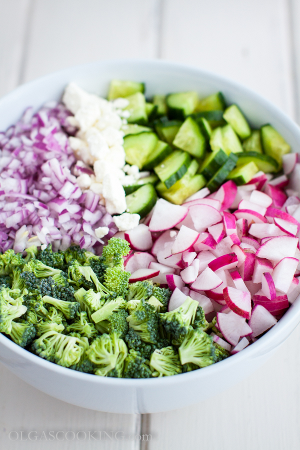 broccoli and radish salad