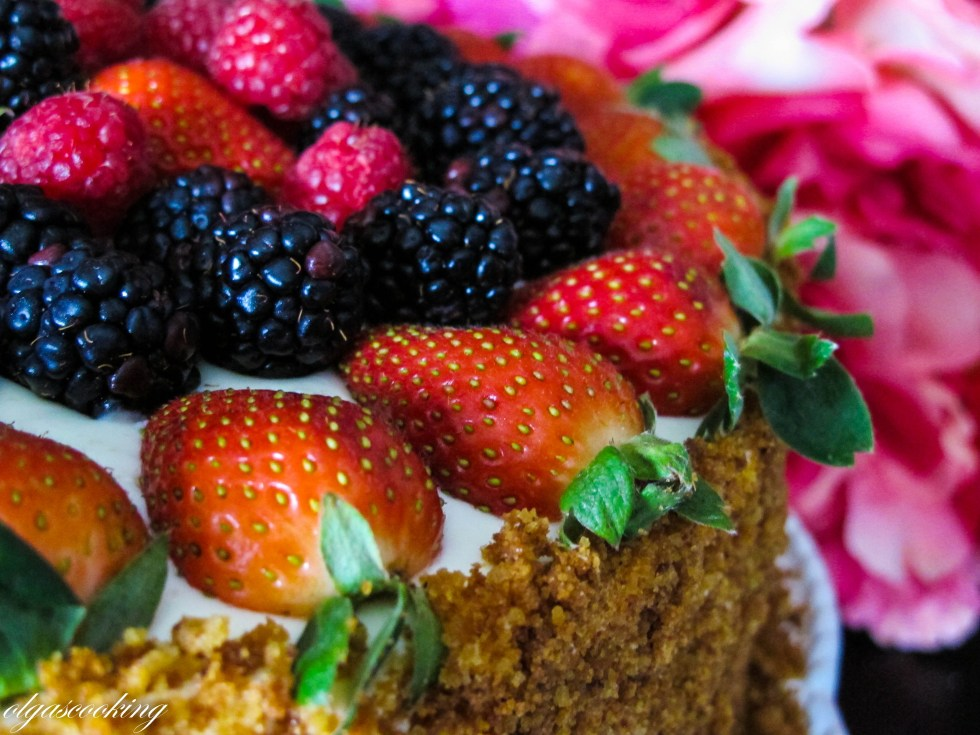 Fruit Ricotta Cake
