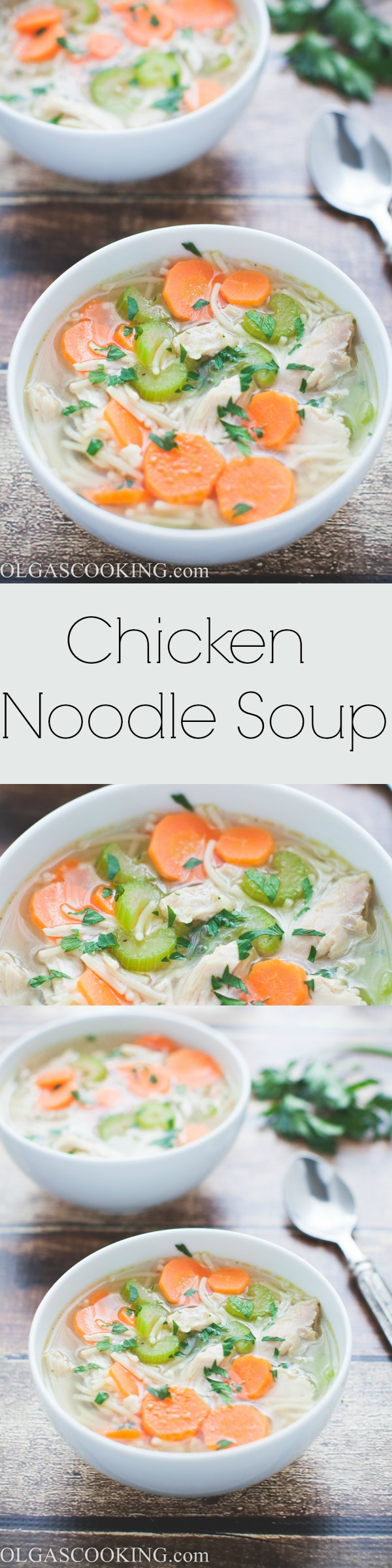 Chicken Noodle Soup is perfect for any day and this soup is ready in no time...like under 30 minutes-no-time!