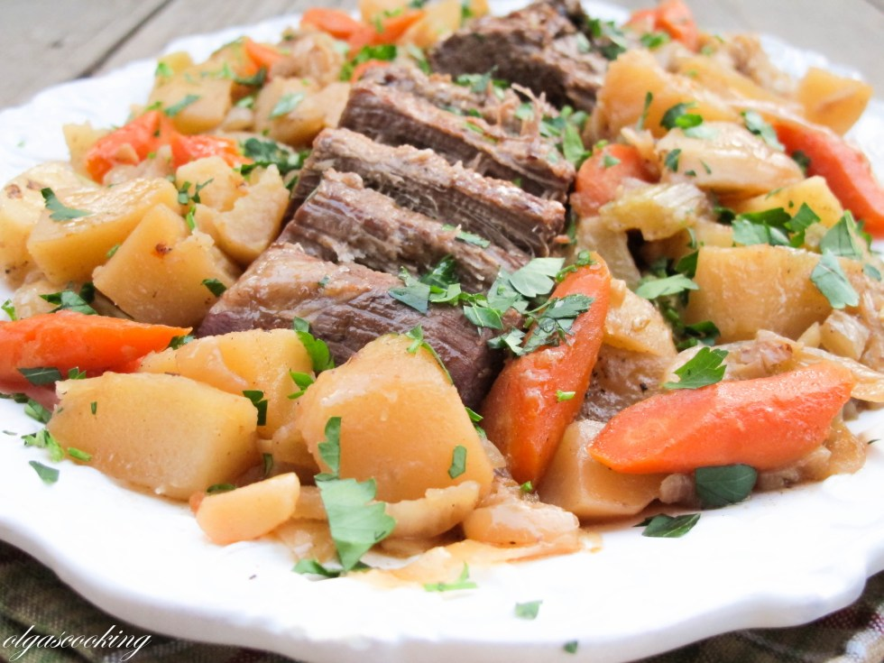 Roasted Beef with Vegetables