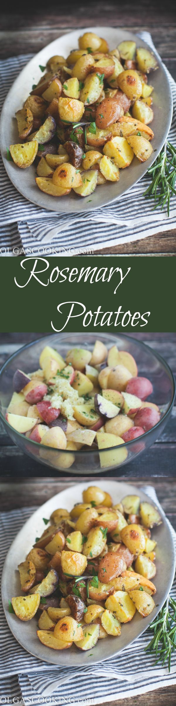 Rosemary Potatoes! Quick and easy to make and are full of flavor!
