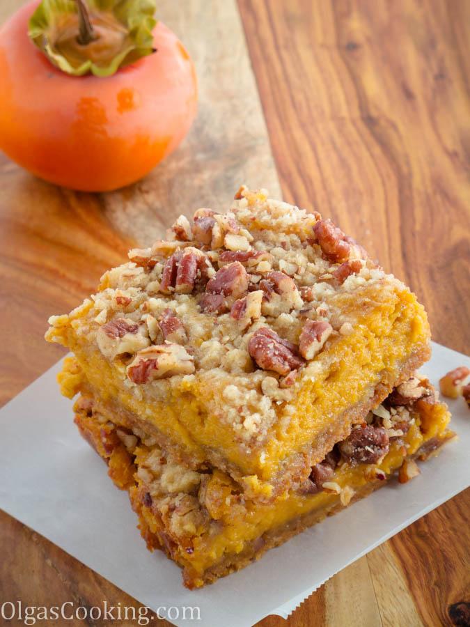 caramel pumpkin bars 2