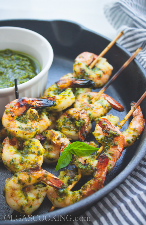 Grilled Pesto Shrimp 1-1