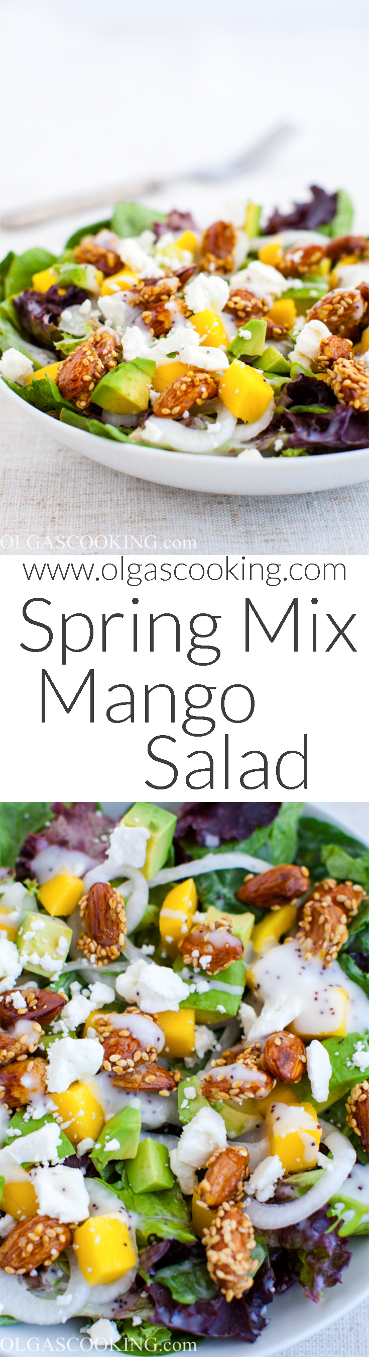 Spring Mix Mango Salad