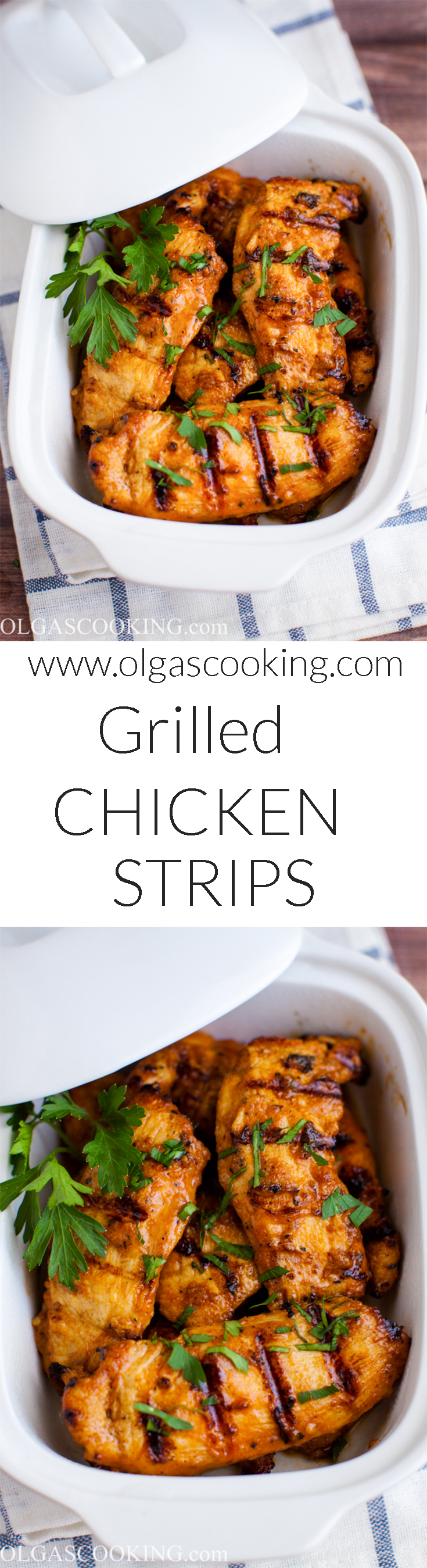 Easy Grilled Chicken Strips