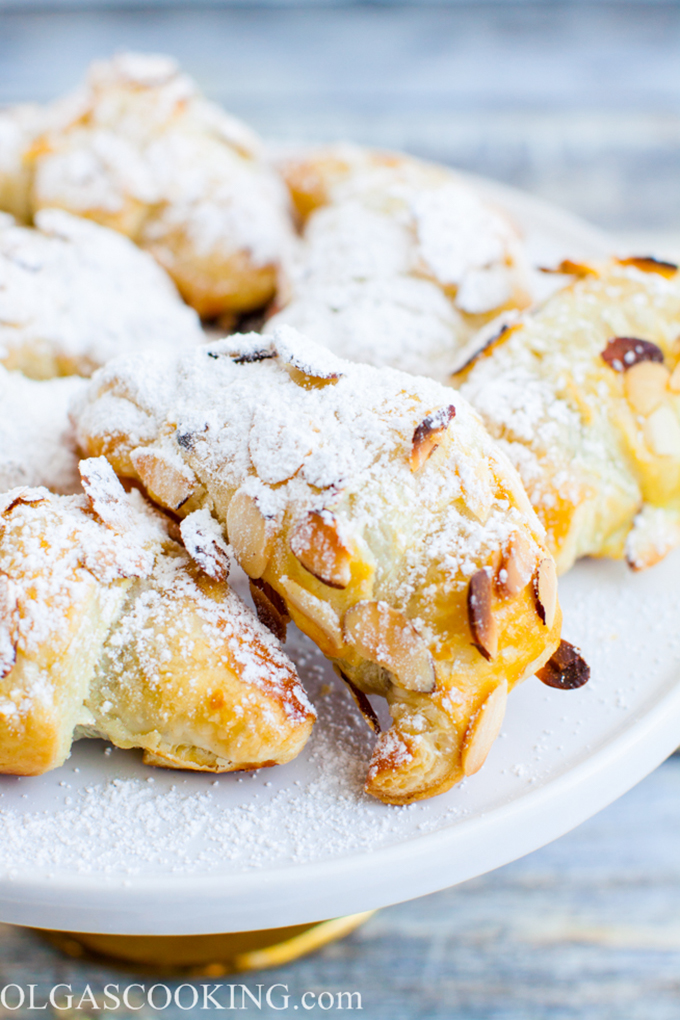 Nutella Almond Croissants