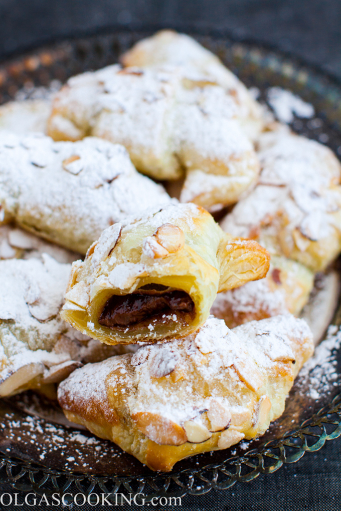 how to make nutella croissants