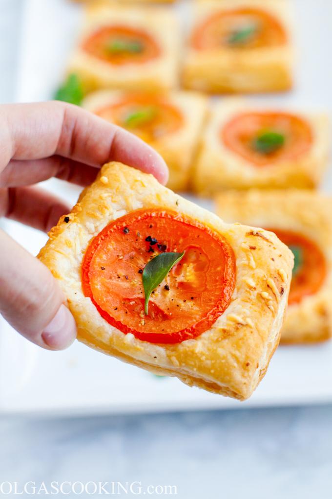 Tomato Parmesan Bites
