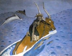 Валентин-Серов-Похищение-Европы-1910