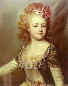Великая княжна Александра Павловна