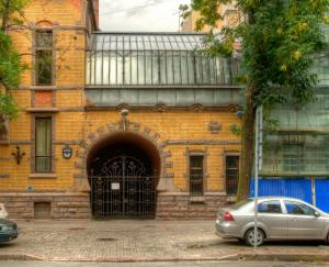 Дом Форостовского П. П. Зимний сад