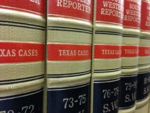 Lubbock TX Case Law Books
