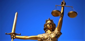 Lady Justice in Lubbock