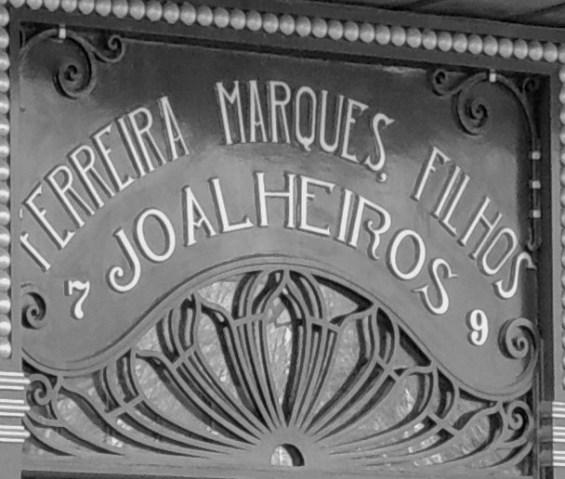 Lisboa shop front close up