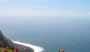 Atlantic views from Madeira cliffs