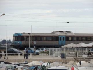 Modern day train