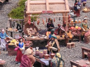 Lively market