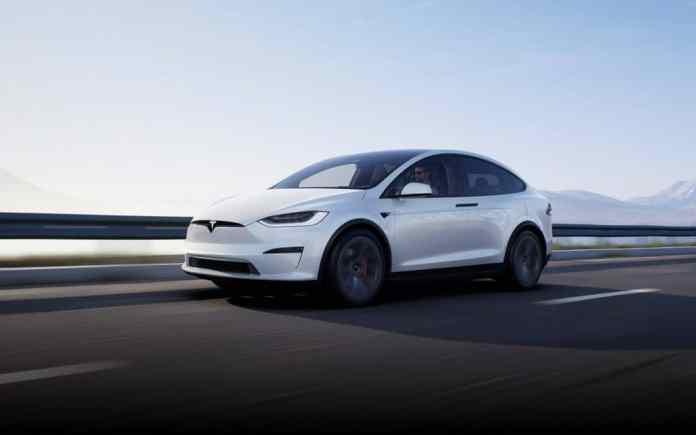 Model X, da Tesla