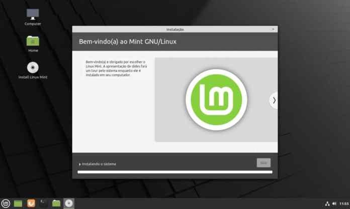 Como instalar o Linux Mint 20.1 no computador - Passo 11