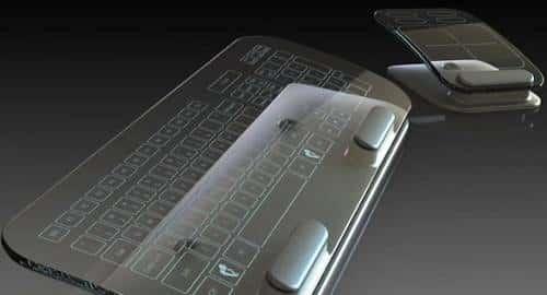 Teclado e Mouse multi-touch