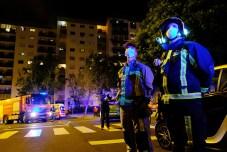 Bombeiros Voluntários de Carnaxide, agradecimento dos moradores de Carnaxide aos Bombeiros