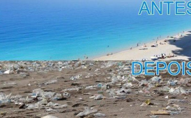 Plásticos nos oceanos: o fim do turismo nas praias?