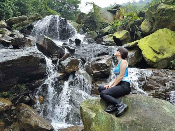 Cachoeira Portal Vale da Morte na Trilha da Ferradura em Paranapiacaba SP